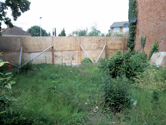 Land adjacent to 54 Travellers Way, Hounslow, Middlesex TW4 7QA