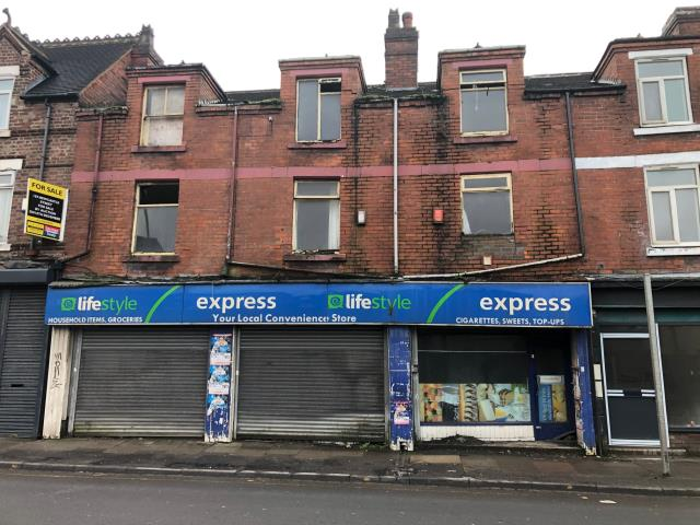 161, 163 & 165 Newcastle Street, Burslem, Stoke-on-trent
