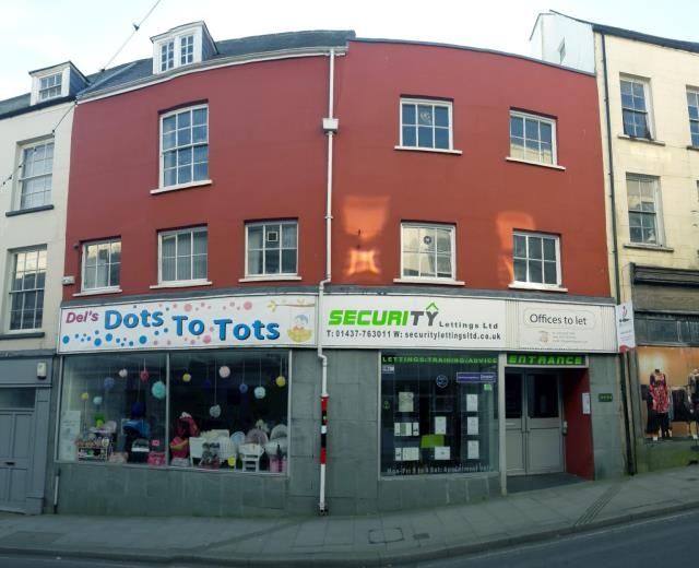 31-33 High Street, Haverfordwest, Pembrokeshire