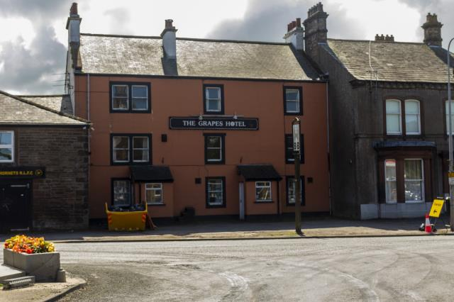 The Grapes Hotel, Market Square, Aspatria, Wigton, Cumbria